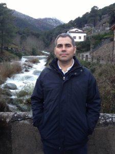 Alberto Muñoz Cabanes de viaje en 2013